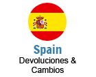 Spain Returns and Exchanges
