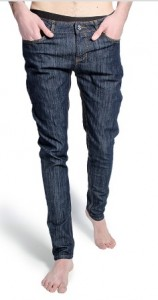 Criminal Damage Mens Indigo Skinny Fit Stretch Jeans