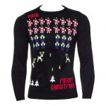 Space Invaders Xmas Jumper