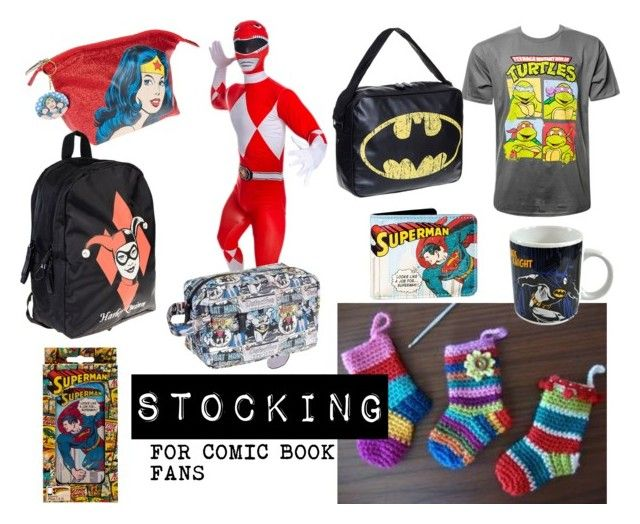 Stocking For Comic Book Fans