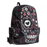Festival Fashion: Banned Skull Backpack