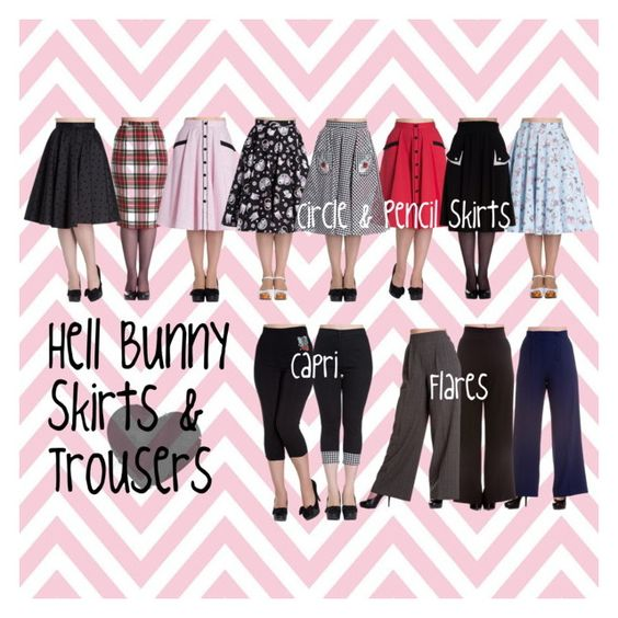 HELL BUNNY SKIRTS & TROUSERS