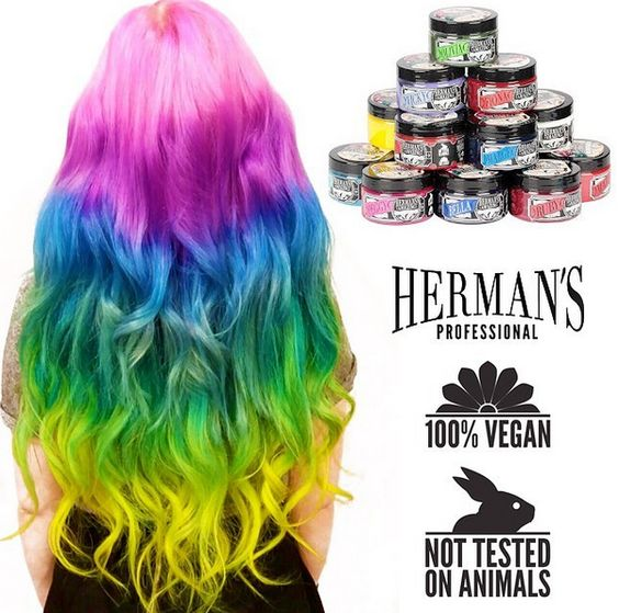 Herman's Amazing Hair Colour: Swatches