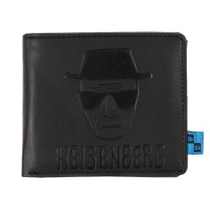 Pop Culture Merchandise, Breaking Bad Black Heisenberg Wallet
