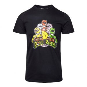 Pop Culture Merchandise, CodDesigns Poke Rangers T Shirt