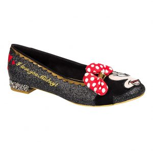Pop Culture Merchandise, Irregular Choice Why Hello Flat Shoes