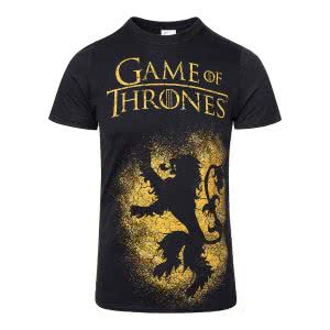 Game Of Thrones T Shirts: Game Of Thrones House Lannister Sigil T Shirt