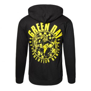 Official Green Day Checker Hoodie (Black)