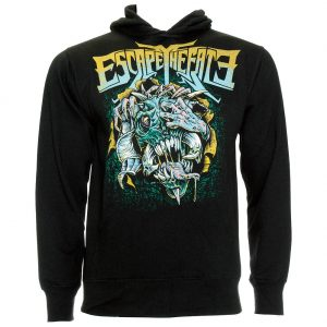 Official Escape The Fate Stressed Hoodie (Black)