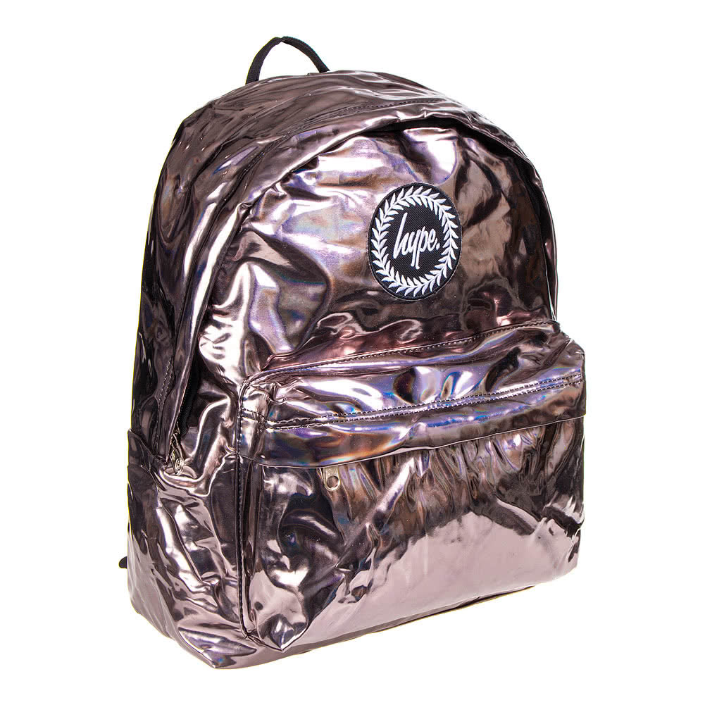 Hype Holographic Coffee Backpack (Bronze)