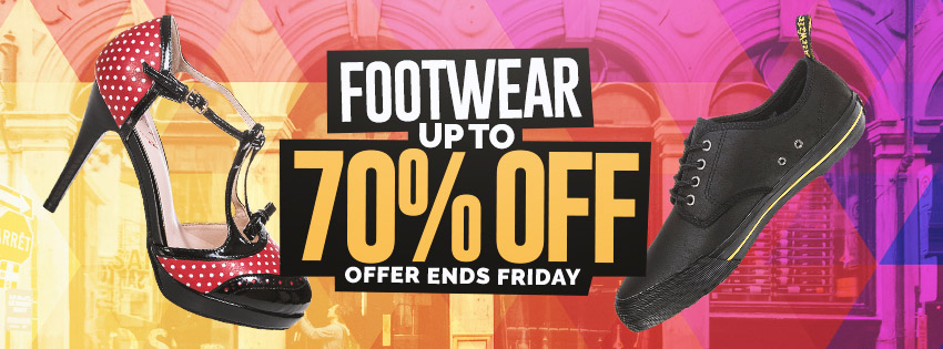 Blue Banana Up To 70% Off Footwear