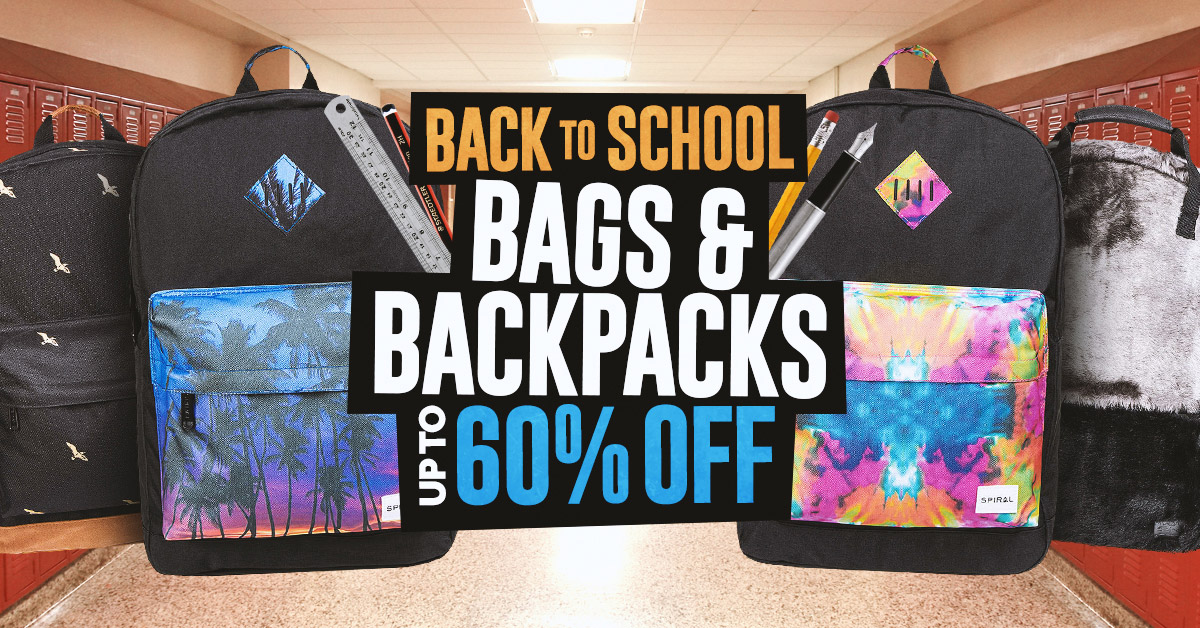 Back To School Sale, Bags and Backpacks