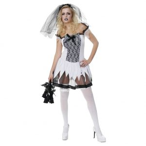 Cheap Halloween Costumes: Sexy Zombie Fancy Dress