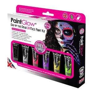 Get Halloween Cosmetics with Blue Banana and Paintglow