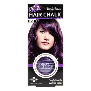 Halloween Hair: Splat Purple Pixies Hair Chalk