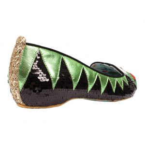 Irregular Choice Muppets: Kermit Flat Shoes 2