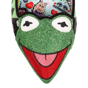 Irregular Choice Muppets Kermit Flat Shoes 3