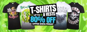 Funny T Shirt & Vests Promo