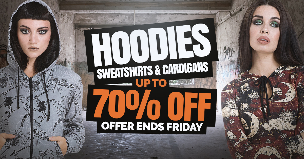bcb419fba7 Get Hoodies Cheap Online - Blue Banana Alternative Clothing Store