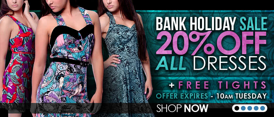 20% OFF All Dresses