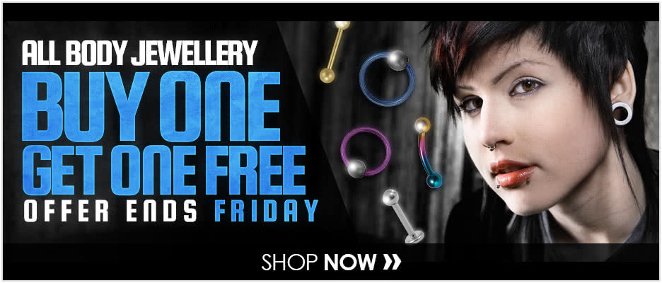 All Body Jewellery Buy 1 Get 1 Free