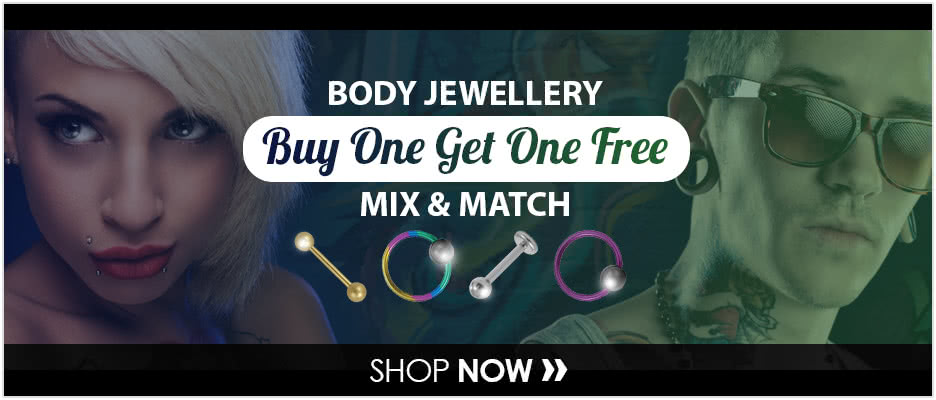 Buy 1 Get 1 Free Body Jewellery