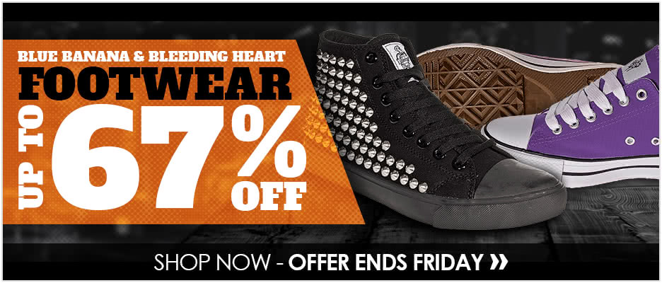 Up To 67% Off Blue Banana & Bleeding Heart Shoes