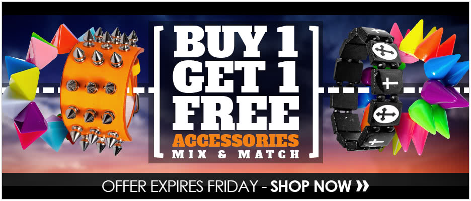 Buy 1 Get 1 Free Accessories