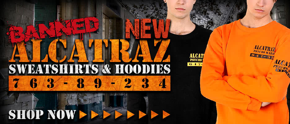 Banned Alcatraz Sweatshirts & Hoodies
