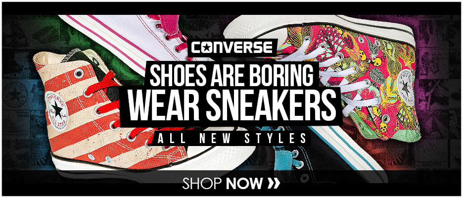 ALL NEW Converse Styles
