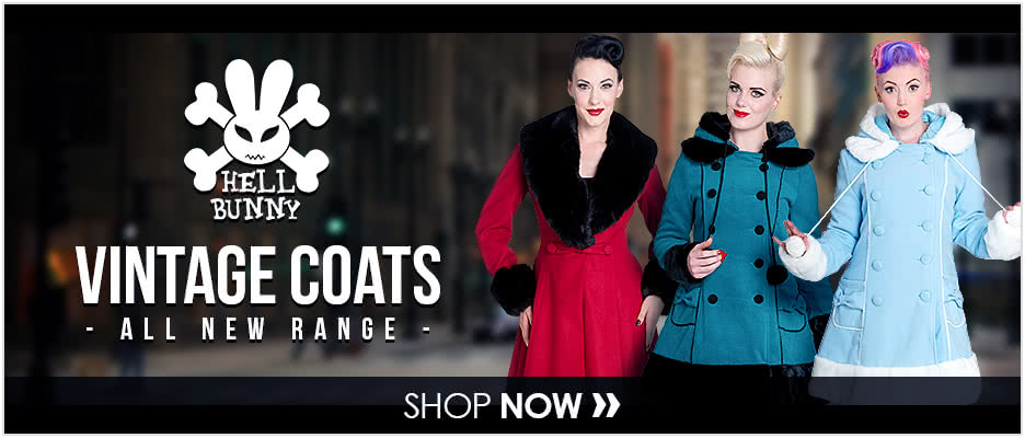 ALL NEW Hell Bunny Coats Range