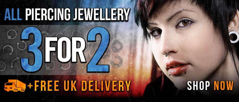 3 for 2 Piercing Jewellery