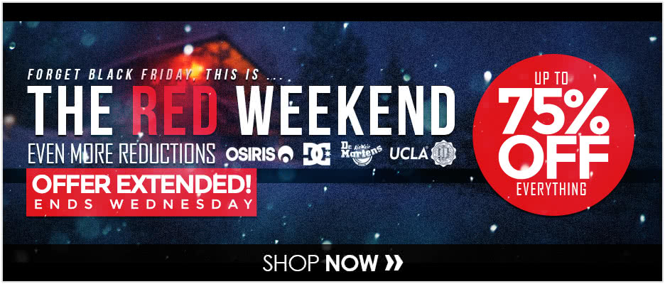 The Red Weekend - Hurry Ends Tuesday