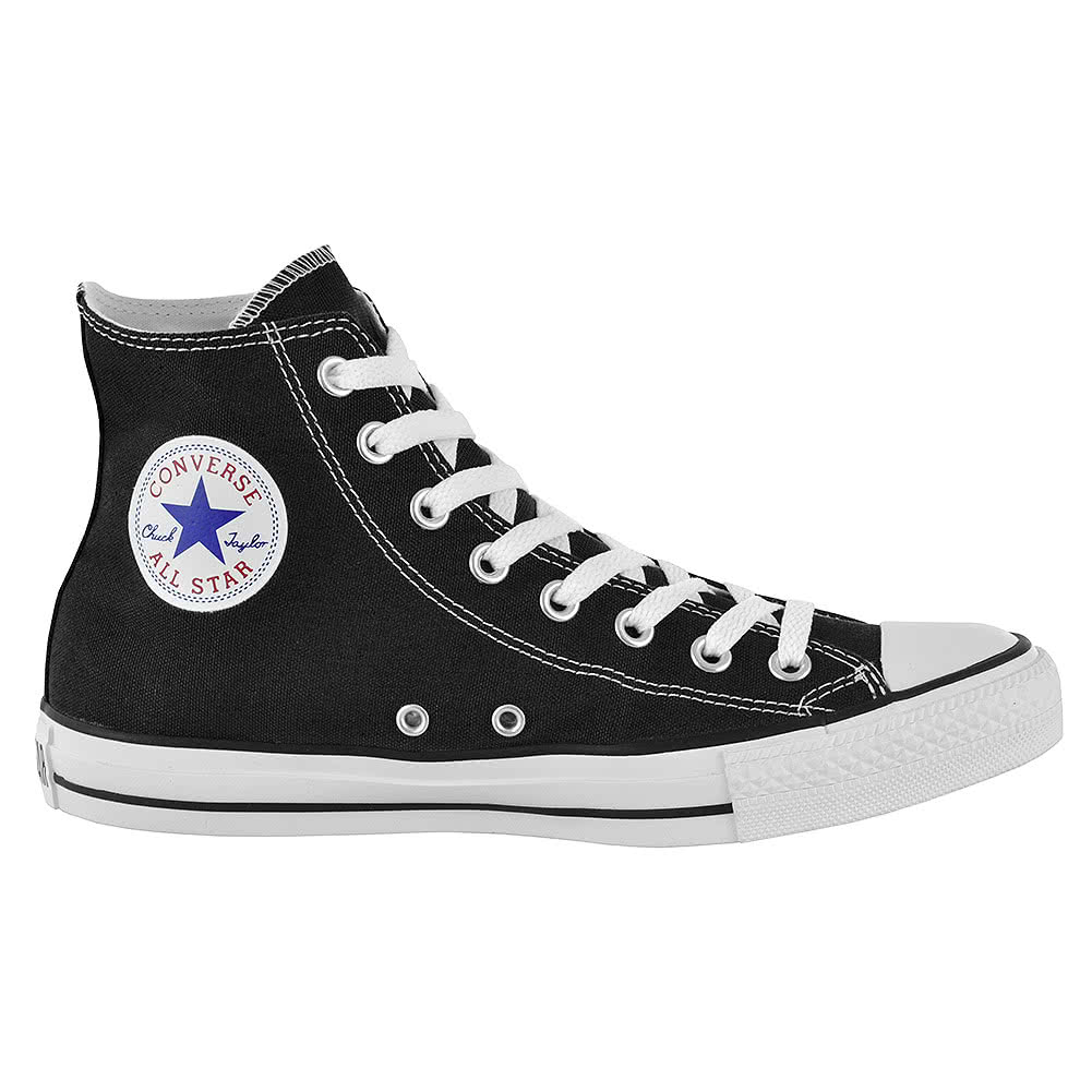 Converse Hi Top Boots (Black)