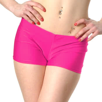 Insanity Neon Hot Pants (Pink)