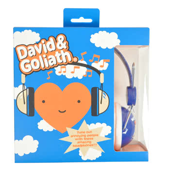David and Goliath We Be Jammin' Headphones