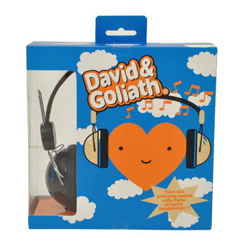 David & Goliath Darkside Headphones (Black)