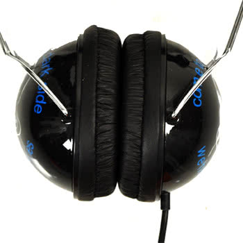 David and Goliath Darkside Headphones (Black)