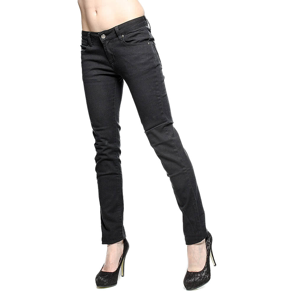 Bleeding Heart Skinny Fit Jeans (Black)