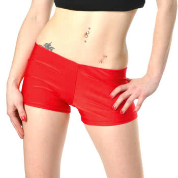 Insanity Hot Pants (Red)