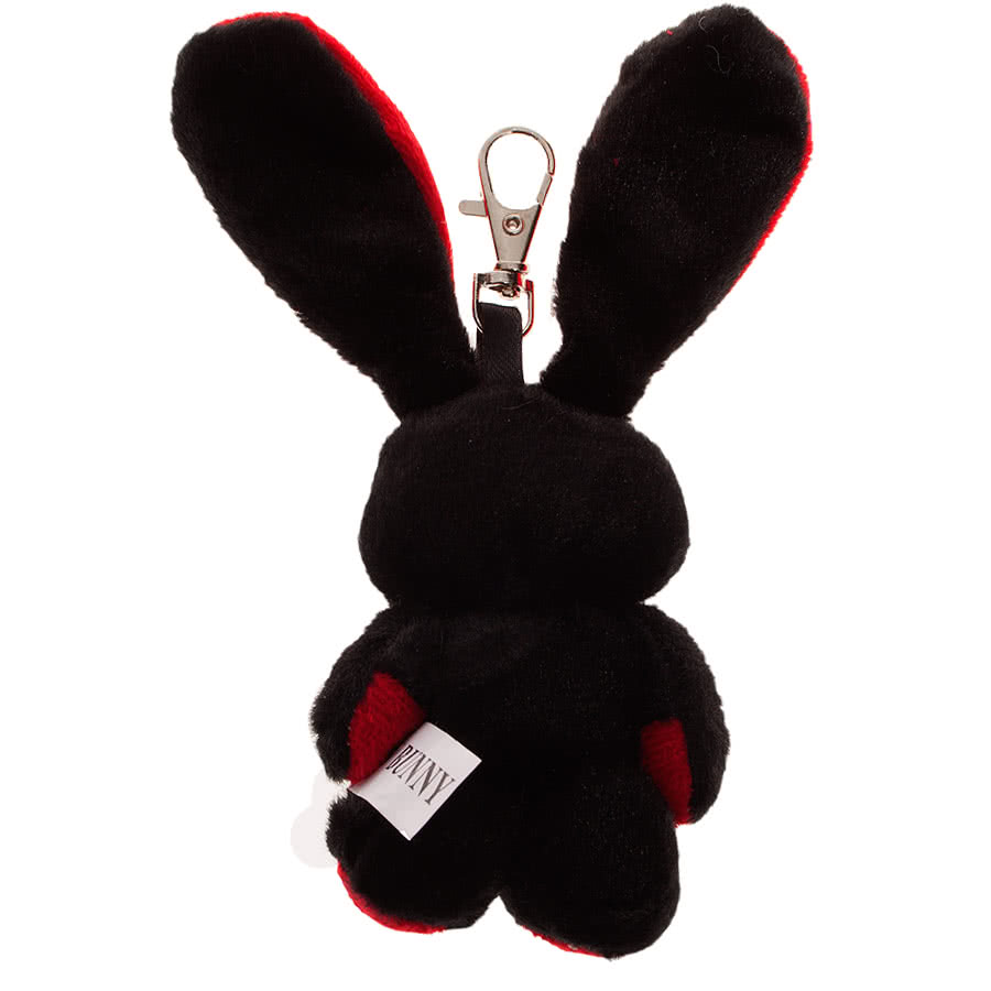 Luv Bunny by Poizen Industries Minxy Keyring (Red)