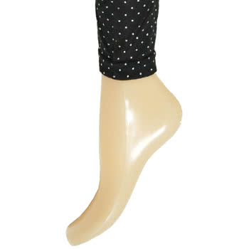 Blue Banana Metal Dots Style Leggings