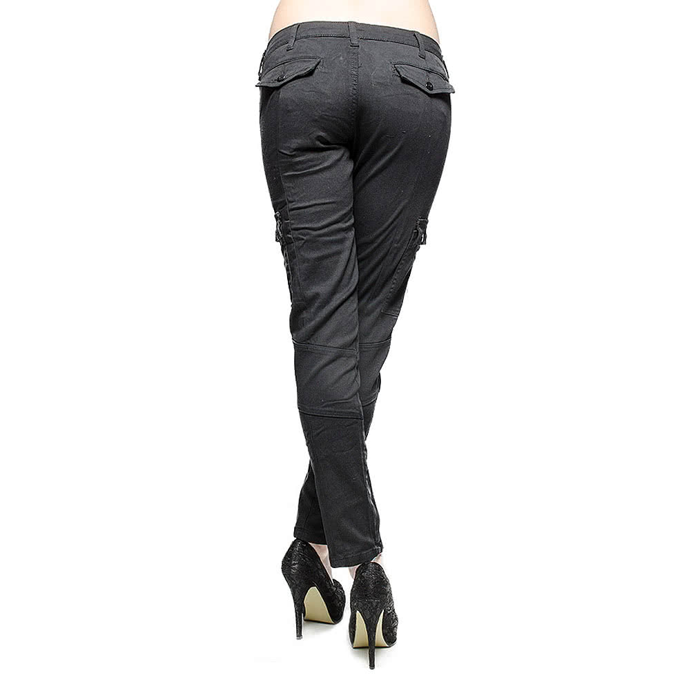 Criminal Damage Tomb Raider Jeans (Black)