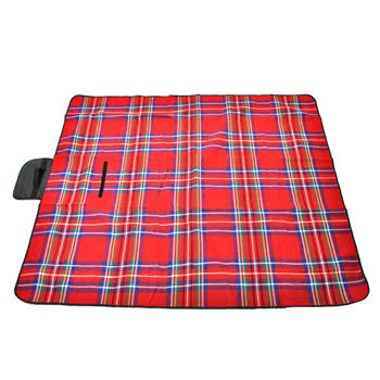 Waterproof Picnic Blanket 150cm X 130cm (Red)
