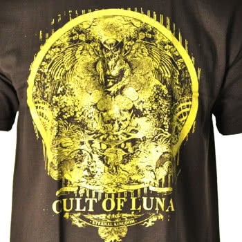Cult Of Luna Eternal Kingdom Print T Shirt (Brown)