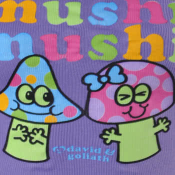 David and Goliath Mushi Mushi Vest (Purple)