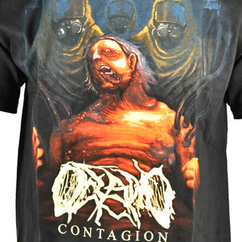 Oceano Contagion T Shirt (Black)