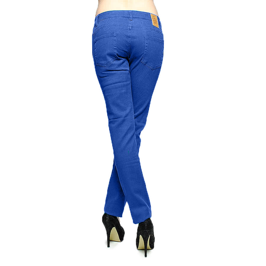 Blue Banana Skinny Fit Jeans (Electric Blue)