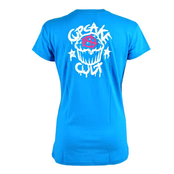 Cupcake Cult Monster Hugs Skinny Fit T Shirt (Blue)