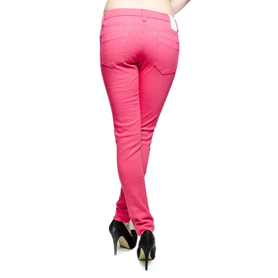 Criminal Damage Fuchsia Skinny Fit Jeans (Pink)